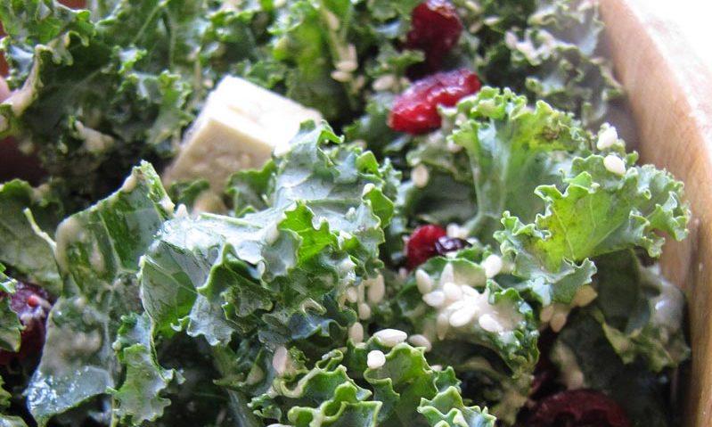 Over The Rainbow Cabbage Salad With Tahini-Lemon Dressing Recipe ...