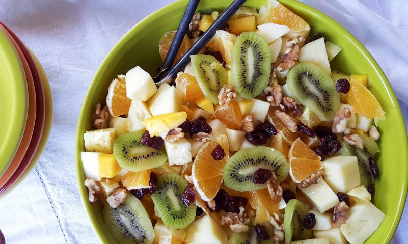 recipe for fruit salad healthy dry fruit