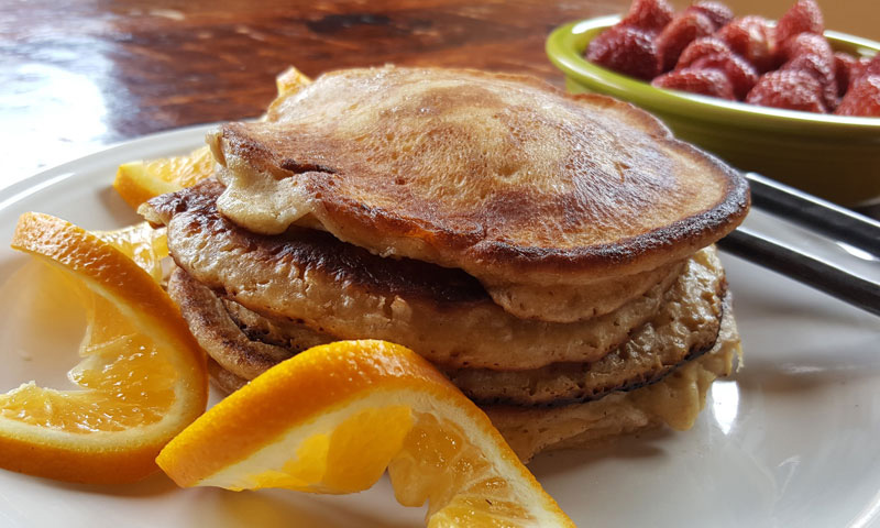 Mason Jar Gift Idea Easy Whole Grain Pancake Mix