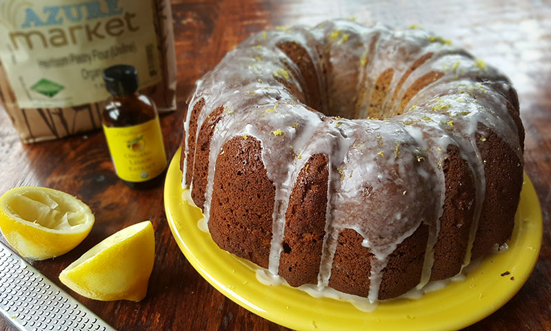 Lemon rum bundt cake recipe